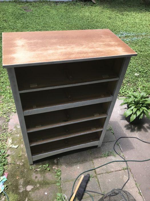 Sanded Bassett craftsman dresser