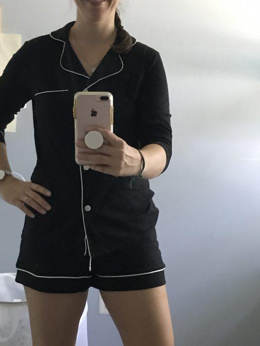 Stitch Fix black pajama set