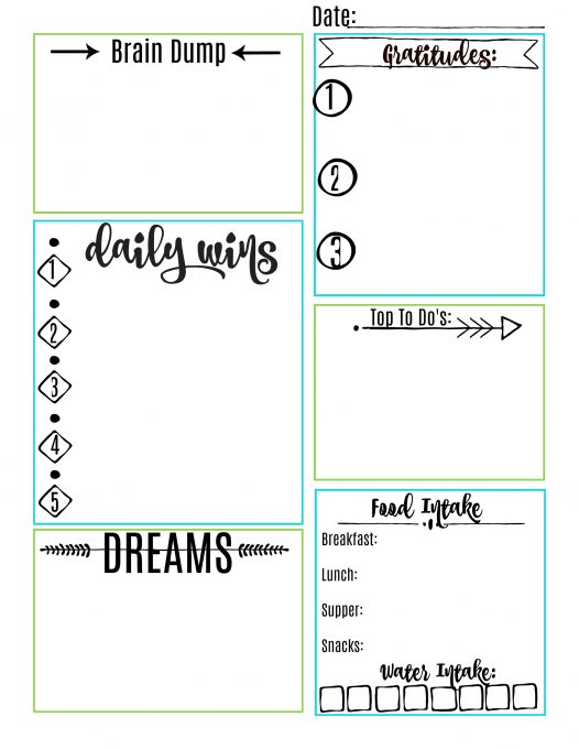 Second Chance to Dream: Self-Care Journal + FREE Self-Care Printable #selfcare