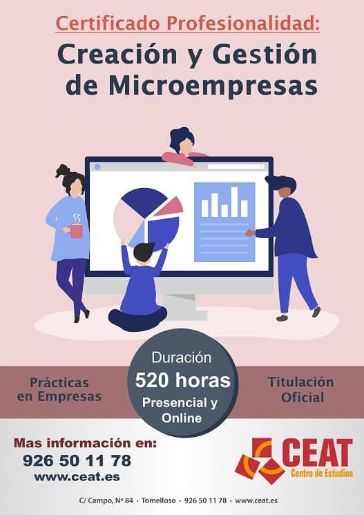 Creacion y gestion de microempresas