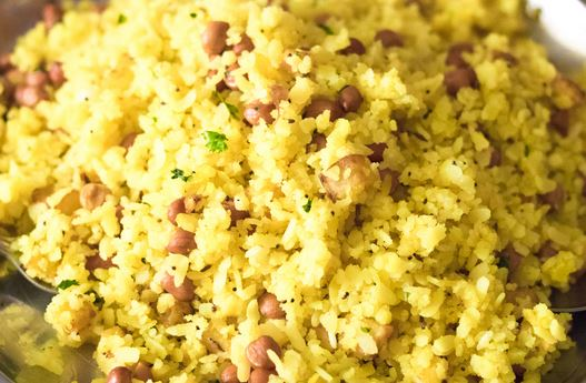 Healthy indian breakfast recipe for weight loss - POHA