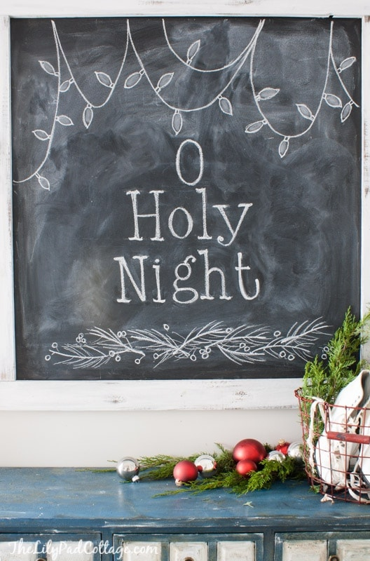Christmas Chalkboard Design