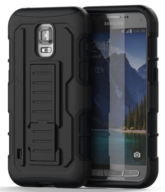 S5 in armadillo case