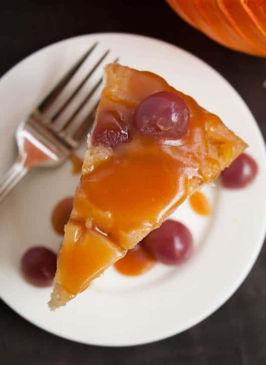 Pineapple Upside Down Cheesecake Cake-11
