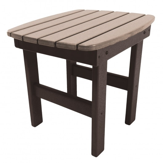 Side Table - ST1 - Chocolate/Weatherwood