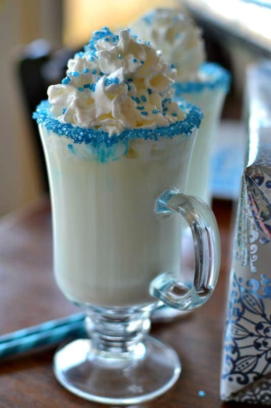 Delicious White Hot Chocolate