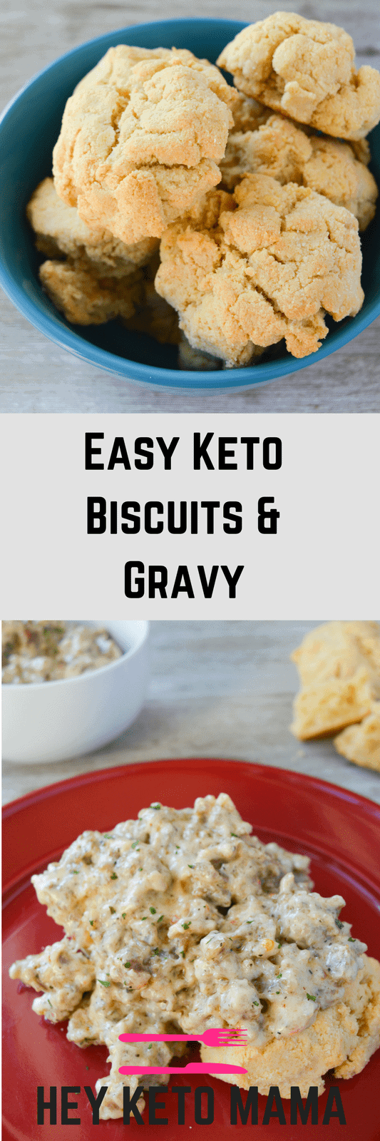 Get ready to experience ketogenic breakfast bliss. This Easy Keto Biscuits and Gravy recipe is an amazing way to start your day with a southern feel!