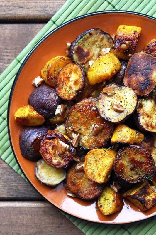 Roasted Potato and Squash