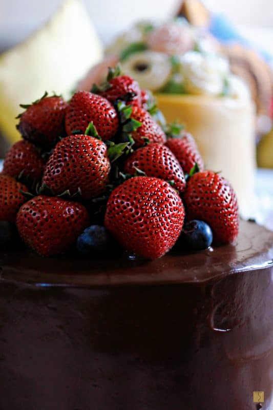 Heart's and Bells - Signature Chocolate Cake