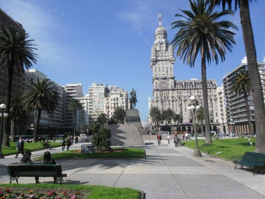 Plaza da Independencia Montevideo