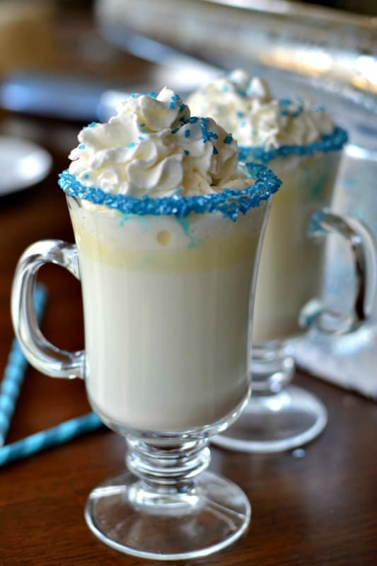 Scrumptious White Hot Chocolate