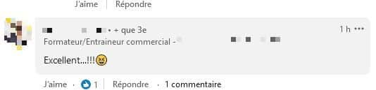 mauvais commentaire linked in
