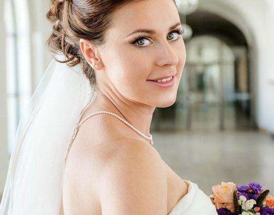 Hochzeitsfotograf-Allgaeu Braut Portrait Prunkraeume Kempten