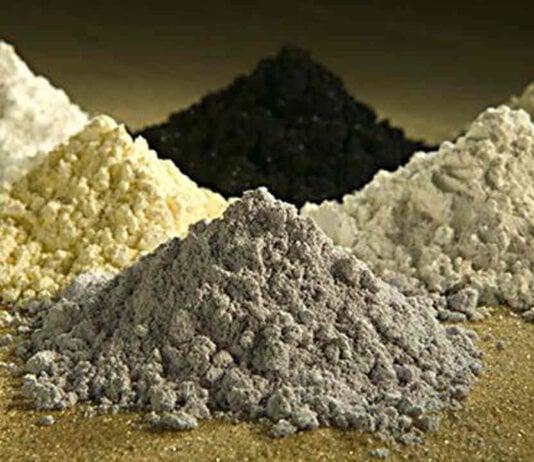 Metales y tierras raras