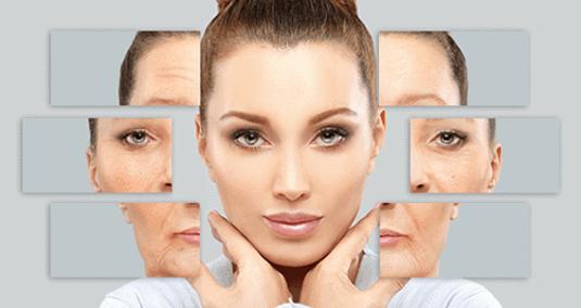 dolgu uygulamaları kadın yüzü