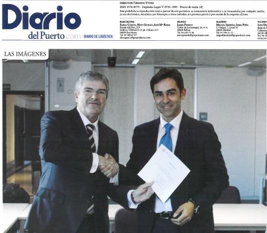 Diario Del Puerto - Premio Pablo Acero A Salva Bueno, MA Abogados
