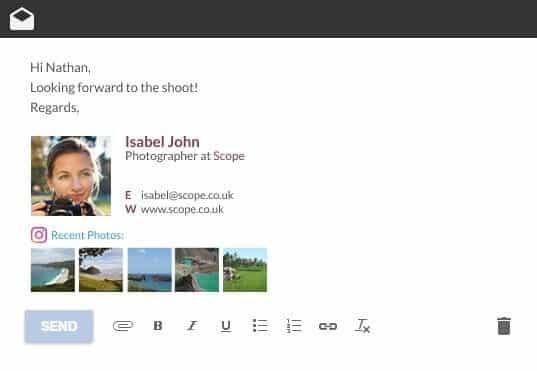 signature email pro wisestamp