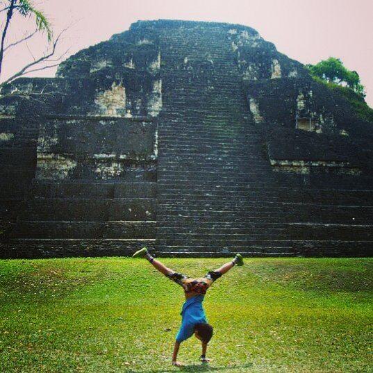 Maya cartwheel