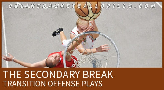 SECONDARY BREAK TRANSITION OFFENSE