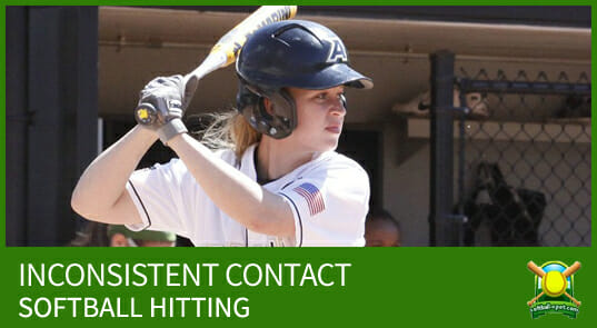 INCONSISTENT CONTACT softball hitting