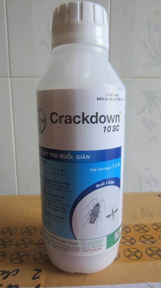 Thuốc diệt muỗi Crackdown