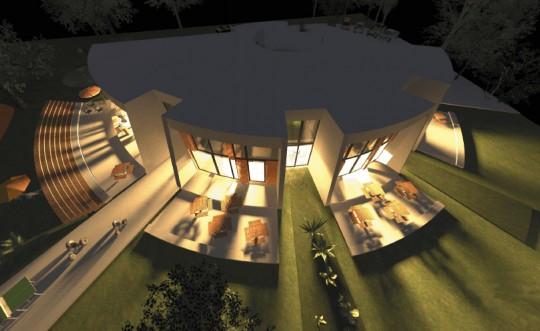 8 Eine Montessori Grundschule in moderner Architektur