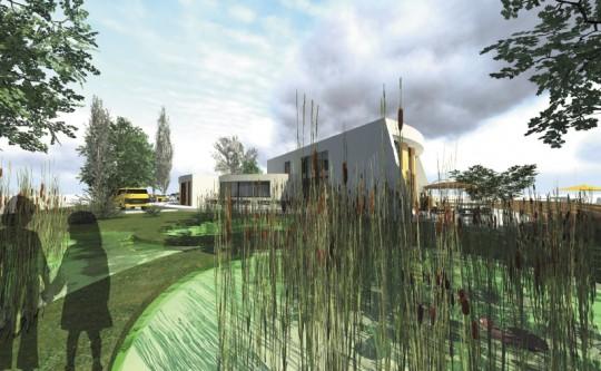 11 Eine Montessori Grundschule in moderner Architektur