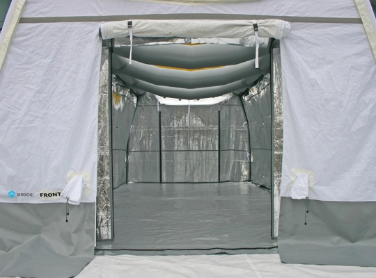 fuel cell shelter