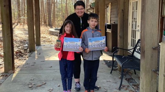 Discover Junior Ranger Geocaching