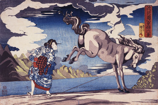 Il genio barocco di Kuniyoshi