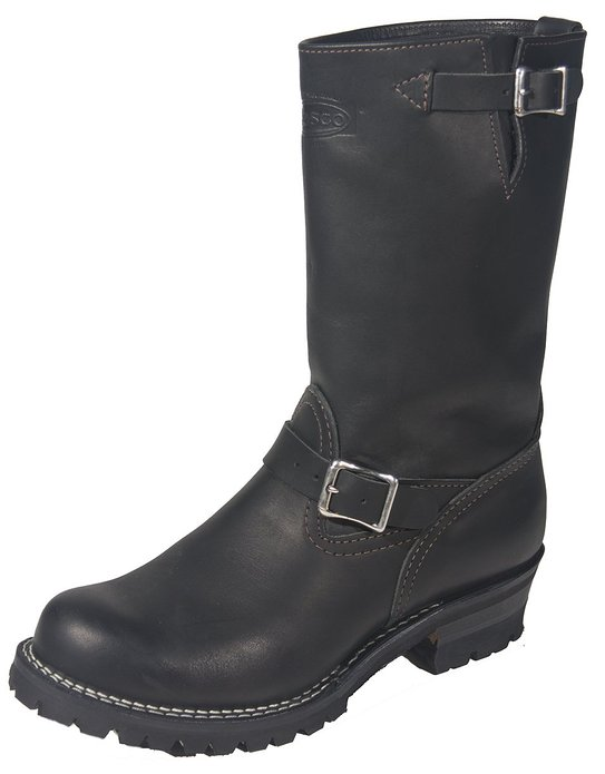 "Wesco Boss 11"" Engineer Boots 7700100"