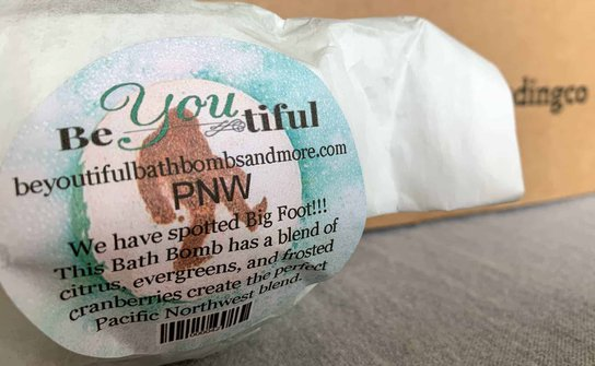 bath bombs from the inland nw trading co july subscription box