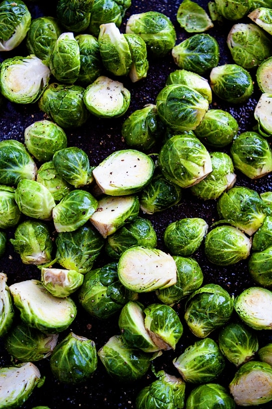 how to cook brussels sprouts in the oven