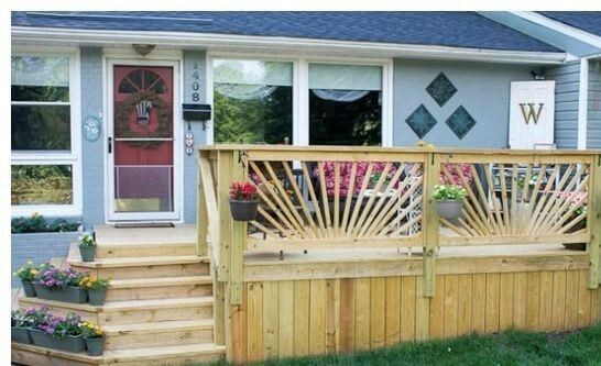 deck railing ideas home depot