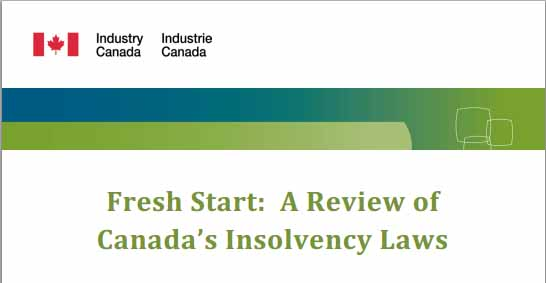 Canada's Insolvency Laws