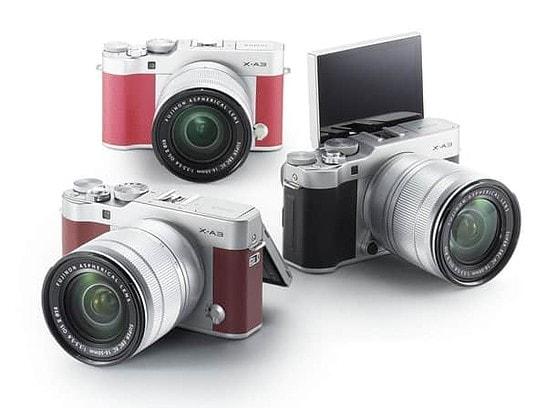 Giới thiệu máy ảnh Fujifilm X-A5 bộ cảm biến 24,2 Megapixel, không gương lật