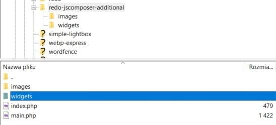 Tworzenie nowego widgetu WPBakery