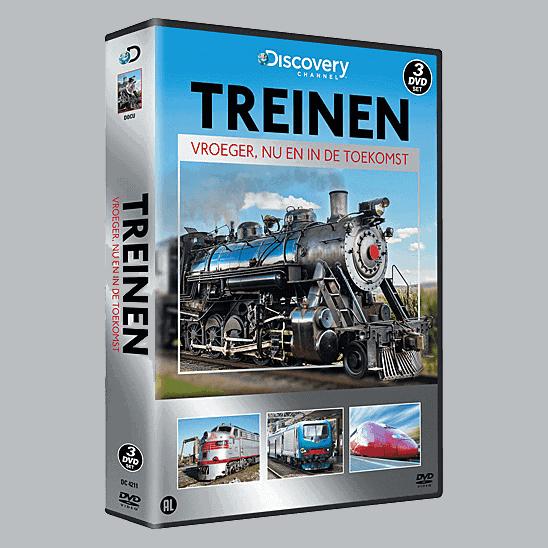 Treinen, Vroeger, Nu en in de Toekomst (3 DVD Box)