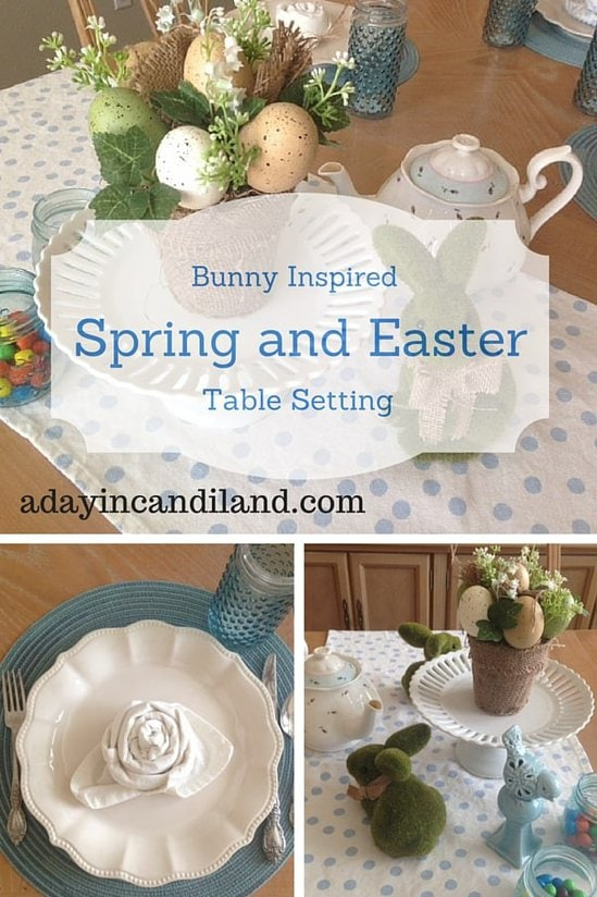 A Day in Candiland~Bunny Inspired Spring and Easter Table Setting https://whynotmom.comadayincandiland.com/bunny-inspired-spring-easter-table-setting/