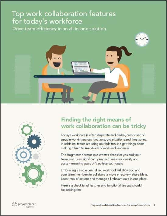 Top work collaboration features for today's workforce