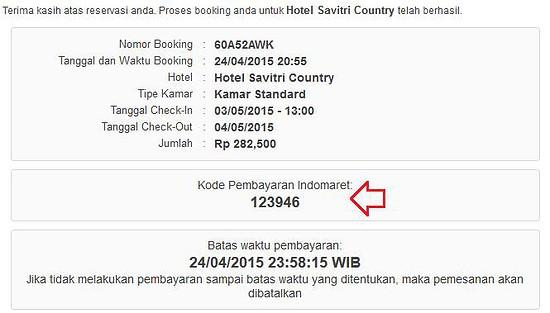 cara booking hotel tanpa kartu kredit (2)
