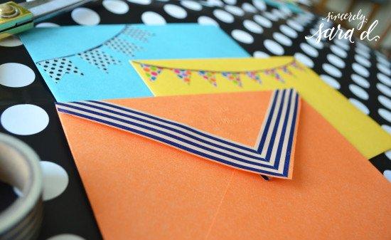 Washi Tape - Envelopes