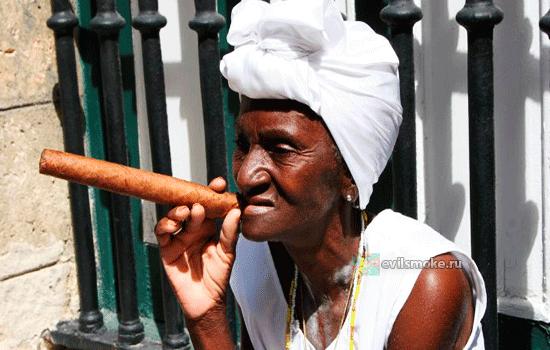 Бабка с сигарой