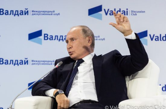 Vlagyimir Putyin a 15. Valdaj Klub plenáris ülésén 2018. október 18-án #moszkvater