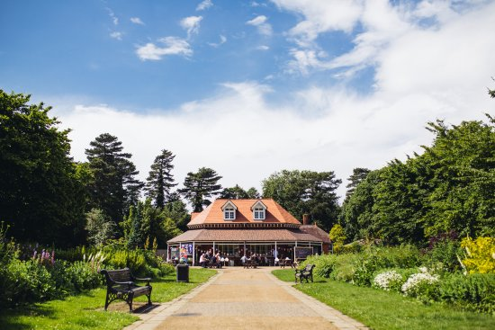 Pavilion in the Park - Bedford Park, great for gluten free and vegan food and drink