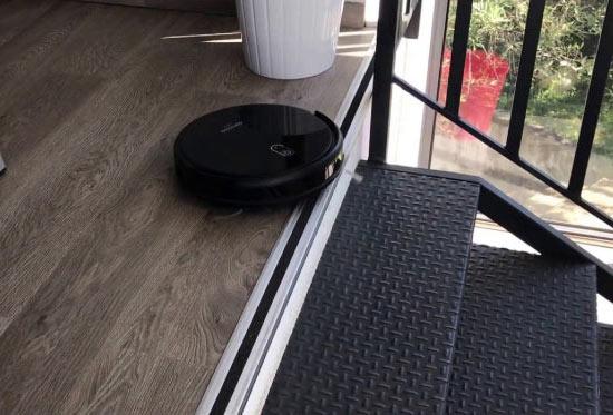une machine qui évite les escaliers