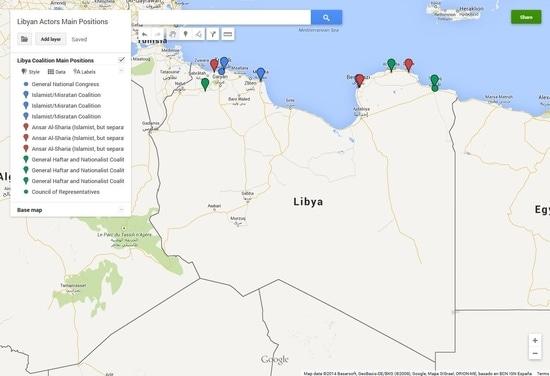 Libye, guerre libyenne, guerre, conflit, acteurs libyens