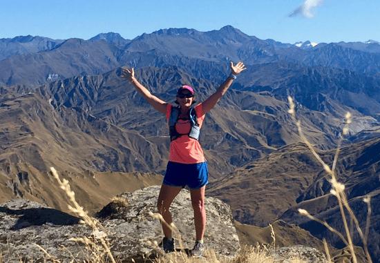 Anaya on mountain