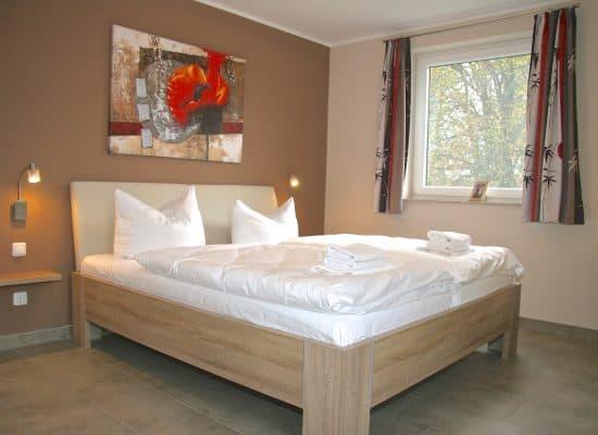 Göhren-Lebbin Ferienhaus Schlafzimmer