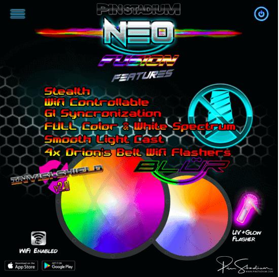 Neo Fusion Pin Stadium 2